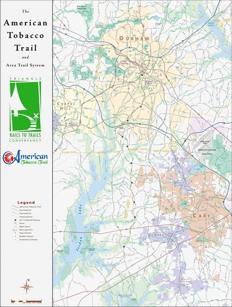 american tobacco trail map american tobacco trail durham trailhead rails to trails