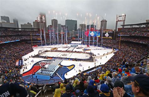 nhl s winter classic in st louis bits and pieces