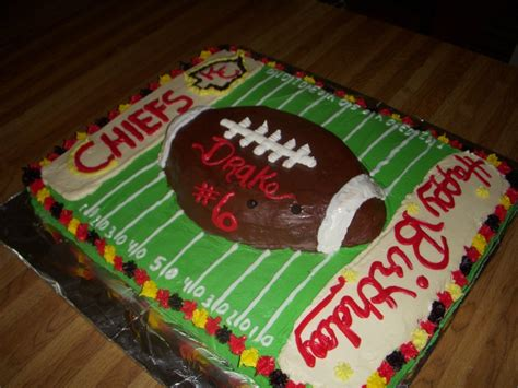 Cake Decorators In Kansas City by 23 Best Images About Kansas City Chiefs Cakes On