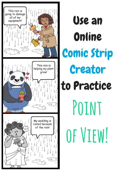 The Academic Point Of View by Use An Comic Creator To Practice Point Of