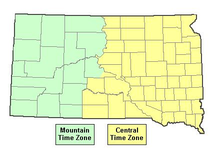utah time zone current time in south dakota