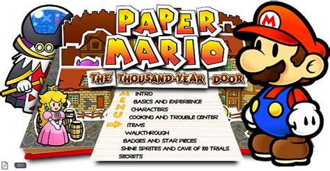Paper Mario Thousand Year Door Walkthrough by Paper Mario The Thousand Year Door Cube Walkthrough