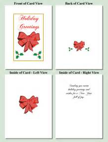 bow design free printable cards