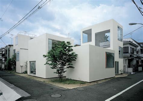 Small Courtyard House Plans by Amassing Design Moriyama House Sanaa Kazuyo Sejima