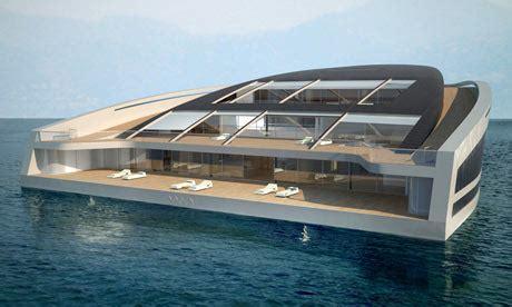 big boat dream man meet the yacht that doubles as an island world news
