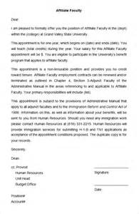 appointment letter format administrative officer 25 appointment letter templates free sample example 7 covering letter for office job event planning template