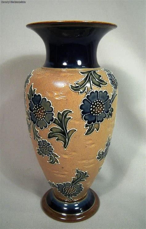 Antique Royal Doulton Vases by Antique Royal Doulton Lambeth Flower Ceramic Vase Ebay