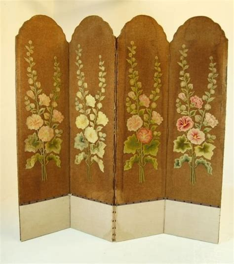 Vintage Room Divider Screen Room Divider Folding Antique Vintage Backdrop 93345 Sellingantiques Co Uk