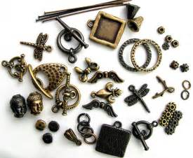 Jewelry Supply Metal Supplies For Vintage Jewelry