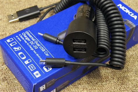 car charger for nokia nokia dual usb car charger dc 20 review all about symbian