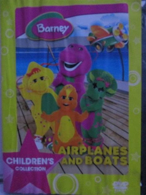 barney boats tv series dvd barney airplanes and boats was sold