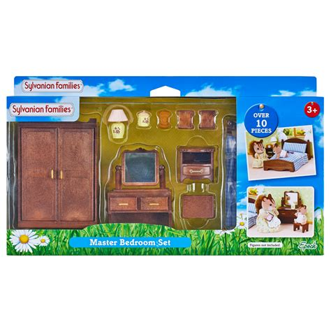 bedroom toys master bedroom set from sylvanian families wwsm