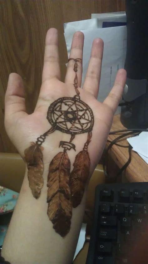 dream catcher henna tattoo tumblr 29 amazing henna dreamcatcher makedes