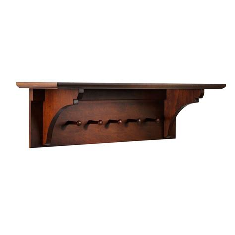 One Shelf by Martha Stewart Living Solutions Sequoia Wall Mounted Coat