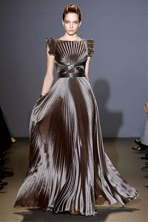 andrew gn fall 2011 shiny show stopping dress fashion