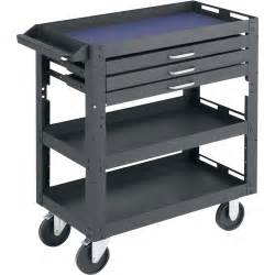 northern industrial tools 3 shelf 3 drawer work cart