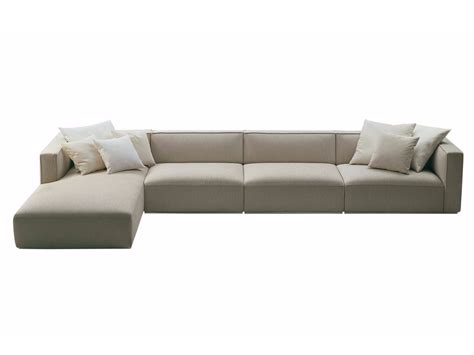 chaiselongue sofa shangai sofa with chaise longue shangai collection by