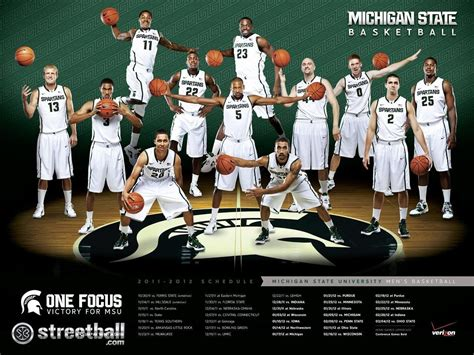 michigan state basketball college basketball wallpapers wallpaper cave