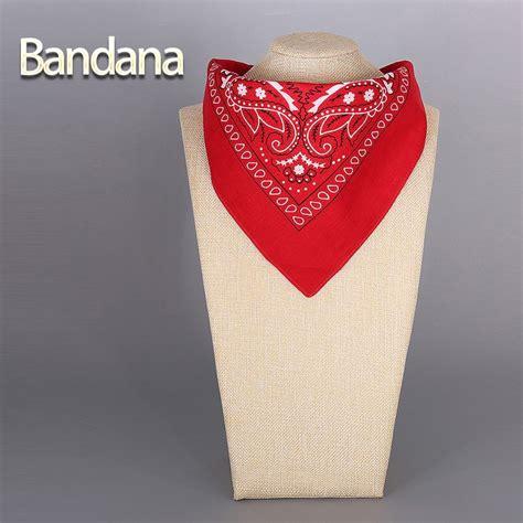 Mini Scraf Square Bandana Dll 2016 cotton bandana scarf square scarf
