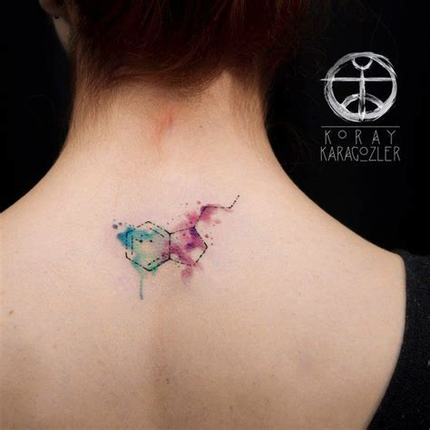 dmt molecule tattoo 11 best tatuagem molecula images on