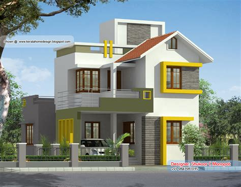 small villa design small villa designs 1000 square feet double floor kerala