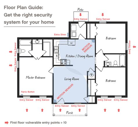 home security plan security floor plan thefloors co