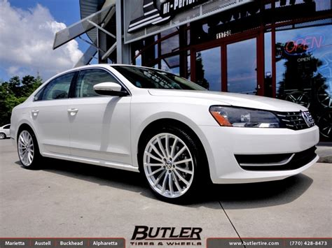 white volkswagen passat black rims vw passat with 20in tsw mallory wheels exclusively from