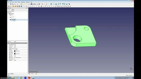 linuxcnc tutorial freecad to heekscnc to linuxcnc tutorial youtube