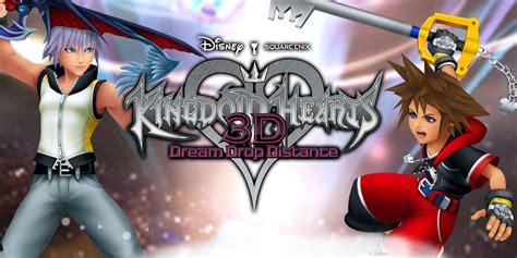 Kaset Kingdom Hearts 3d Drop Distance 3ds kingdom hearts 3d drop distance nintendo 3ds nintendo