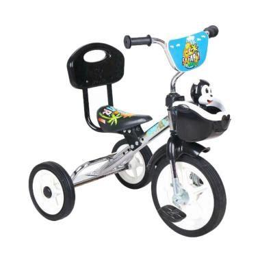 Sepeda Bmx Roda Tiga Anak Biru Tricycle Sandaran Yoe Yoe Khusus Gojek jual sepeda anak roda tiga untuk anak 1 2 3 tahun blibli