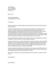 Character Reference Letter Judge Letter Of Recommendation