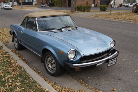 fiat spider 1981 the fiat 124 spider that conquered the usa 50 years ago