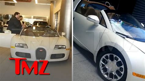tracy morgan bought bugatti  minutes  crash tmz
