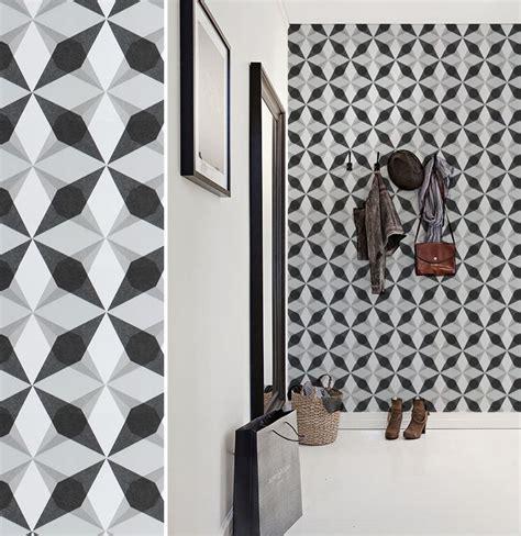 tapisserie graphique papier peint g 233 om 233 trique noir et blanc jocelyne warner