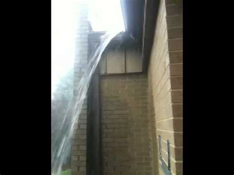 gutter overflow at main door youtube