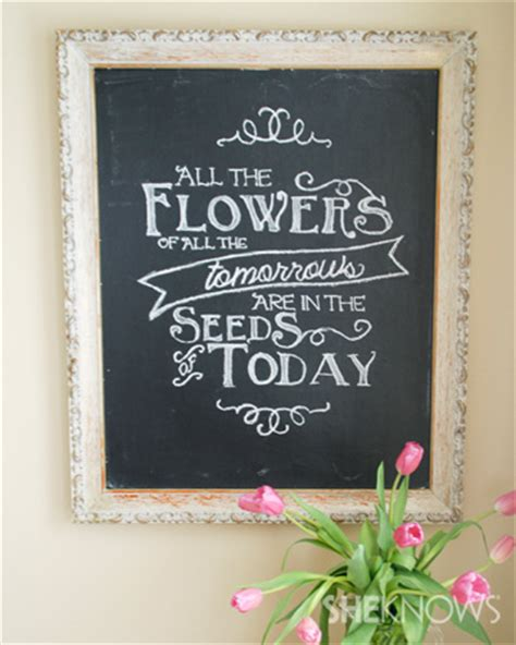 diy chalkboard quotes chalkboard quote tutorial
