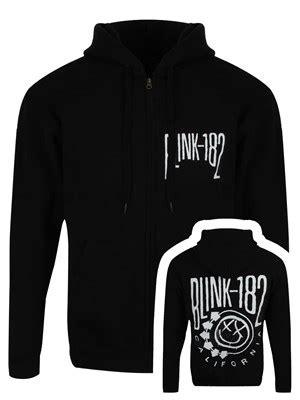 Vest Blink Jaket Hoodie Zipper Sweater Polos Ym01 2 blink 182 cali smile s black zip up hoodie buy at grindstore
