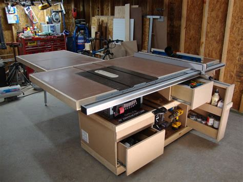 saw station completed kinda by david drummond lumberjocks com woodworking community