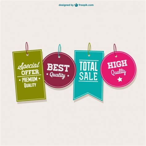 best free offers best offer tags collection vector free