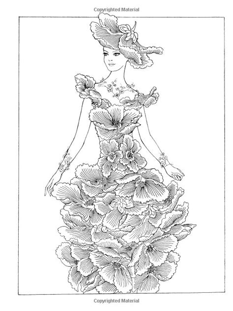 simply creative coloring book for adults books creative flower fashion fantasies coloring book