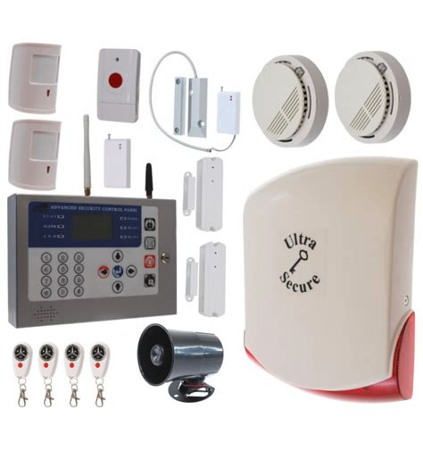 Jual Alarm Wireless Gsm kp gsm workshop alarm 5 2 x sirens alarm detectors