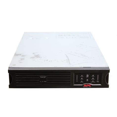apc sua2200rmus ups 2200va usb serial rack mount 2u