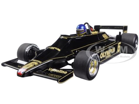 Die Cast Metal Model Driving Die Cast 155 Truck lotus ford 79 6 ronnie peterson 1978 1 18 diecast model