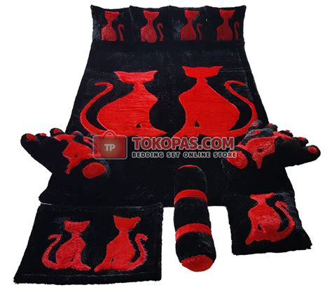 Karpet Bulu Kucing karpet rasfur set murah grosir eceran