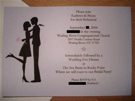 wedding rehearsal dinner invitation wording wedding rehearsal dinner invitation wording