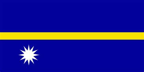 nauru flag  description