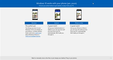 how to sync android how to sync your android or iphone with windows 10 extremetech