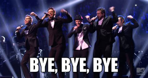 Nsync Meme - 5 alternatives to goodbye