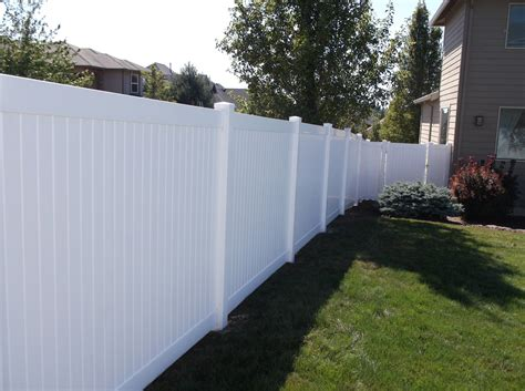 vinyl fencing company vancouver vinyl fences fenceman fence company vancouver washington fences