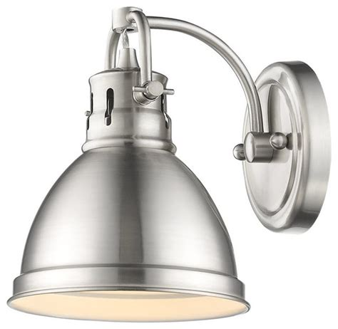 duncan 1 light vanity fixture industrial bathroom